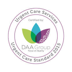 ACCREDITATION Urgent Care Services badge